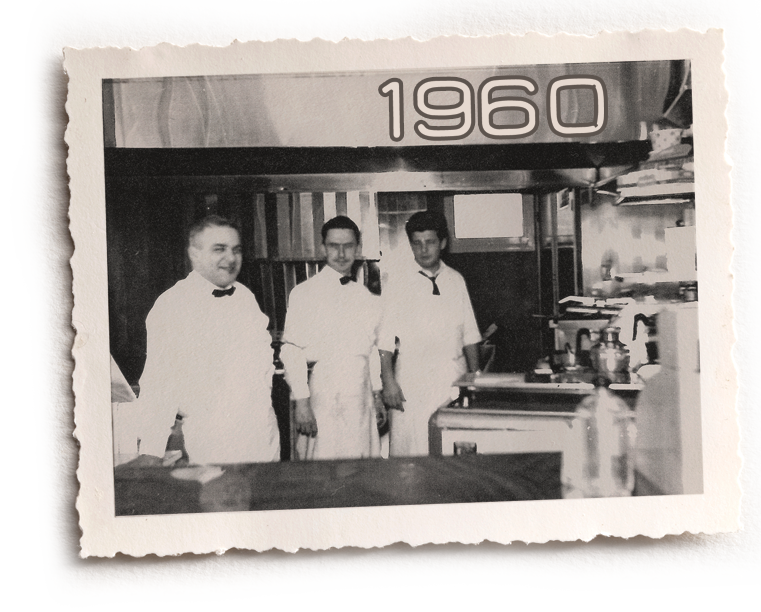 Louis luncheonette en 1960